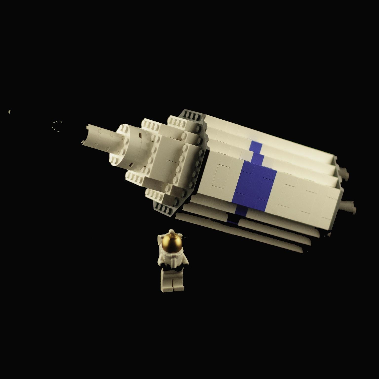 Workshop: Astronaut van de toekomst - lego raket