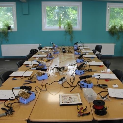 Workshop voor kleuters en lagere school